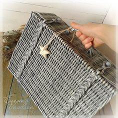 чемоданчик. плетение из бумаги.