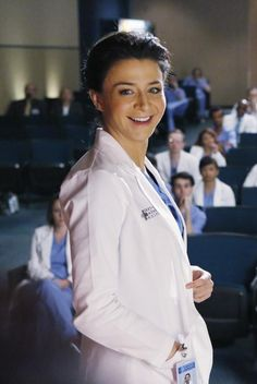 Amelia Shepherd (new) fav character on Grey's