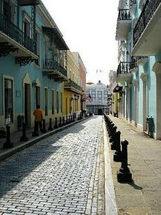 Old San Juan Puerto Rico, I love San Juan old town et all... Great times
