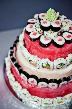 Wedding Cake De Sushi Shop