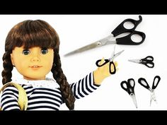 How to make Realistic Doll Scissors - Easy Doll Crafts Dedicated to and requested by Carrie Wright Well I hope that you enjoyed this craft and if so, PLEASE ...