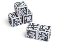 Adventurer Dungeon-Building Dice Set