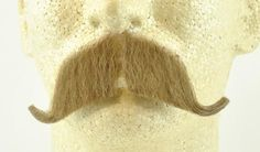 Colonel Major Moustache / Walrus - Human Hair- Item # 2014