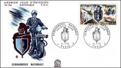 Timbre : 1970 GENDARMERIE NATIONALE | WikiTimbres
