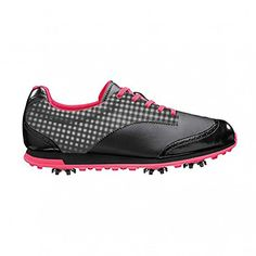 adidas Womens Driver Grace Golf ShoeBlackBlackFresh M US >>> Check this awesome product by going to the link at the image. (This is an affiliate link) Best Golf Shoes, Womens Golf Shoes, Adidas Golf, Taylormade, Adidas Women, Footwear, Sneakers, Image Link, Shopping