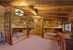 Love the bunks! Sierre Retreat Ranch