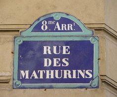 rue des Mathurins - Paris 8ème
