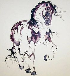 "I want this beautiful horse tattoo with the quote that says ""a life without horse is like a breath without air"""