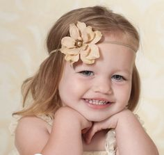 Baby Headband Girls Headband Newborn Headband Infant by KidsAmore, $6.00