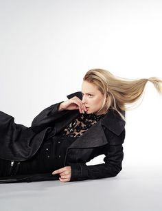 Fashion Editorial for Lookbook8 photography Laura Kallasvee fashion editor Karl Keskla make-up and hair Nele Pandis model Iti (MJ Model Management)