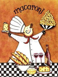Chef Macaroni (Sydney Wright)