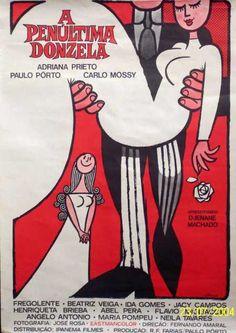 Cartaz de A Penúltima Donzela (1969)