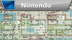 Iconic ! ;-) The Legend of Zelda - Original game map