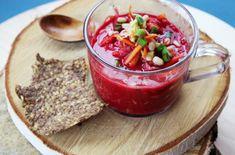 How to Green | Рецепт raw-борща с авокадо и квашеной капустой