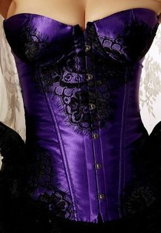 Purple Classical Lace Overlay Corset - Only $59.99 #thevioletvixen #burlesque http://www.thevioletvixen.com/collections/corsets/products/purple-classical-lace-overlay-corset