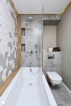 Łazienka w stylu skandynawskim. Od dawna wiadomo, że styl skandynawski kojarzy nam się z minimalizmem oraz bardzo dobrym wykorzystaniem wolnej przestrzeni. Dlatego bardzo dobrze jest czerpać pomysły z tego stylu w łazience. Zdecydowanie łazienki są takimi pomieszczeniami, gdzie należy dbać o każdy centymetr. Tutaj mamy do czynienia z bardzo pomysłowym wykorzystaniem przestrzeni, dzięki któremu można cieszyć siu całkiem sporą wanną. #łazienka #wanna ##styl ##skandynawski