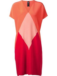 Shop Zero + Maria Cornejo colorblock dress in Capitol from the world's best independent boutiques at farfetch.com. Over 1000 designers from 300 boutiques in one website.