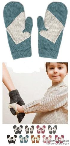 This might just be the sweetest thing ever. It's a mummy mitten with a mini-mitten sewn in for bub. Ohhh so cute!