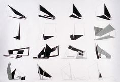 Zaha Hadid drawing
