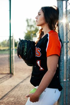 Softball Senior Photoshoot