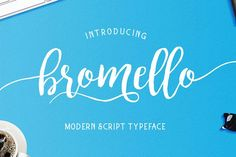bromello typeface from FontBundles.net