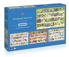 Buy Gibsons Woodland Seasons Jigsaw Puzzle, Set of 500 pieces from our View All Games & Puzzles range at John Lewis & Partners. Josephine Wall, Mary Cassatt, Tour Eiffel, Claude Monet, Vincent Van Gogh, Puzzle New York, La Petite Taupe, Puzzle Ravensburger, Puzzles 3d
