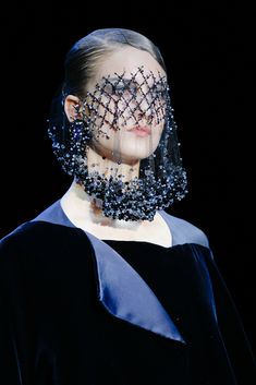 Hat Trick: A Brief History of the Haute Couture Headpiece | Armani Privé Fall 2012