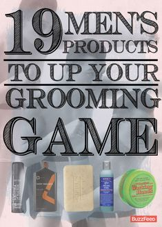 19 Men's Products To Up Your Grooming Game For the guys. And there's a c… 19 Men's Products To Up Your Grooming Game For the guys. And there's a couple products I'd use too. The Body Shop, Sephora, Diy Fashion, Mens Fashion, Style Fashion, Fashion Tips, Beard Grooming, Guys Grooming, Perfume