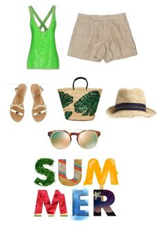 """""""Summer time"""" by belle-image-relooking on Polyvore featuring mode, Ralph Lauren, Ancient Greek Sandals, New Look et Valentino Ancient Greek Sandals, Summer Time, New Look, Valentino, Ralph Lauren, Shoe Bag, Polyvore, Stuff To Buy, Shopping"""