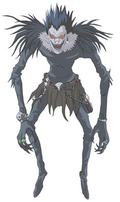 Ryuk the Shinigami.  Could be an interesting costume.