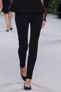 Skinny black pants - always