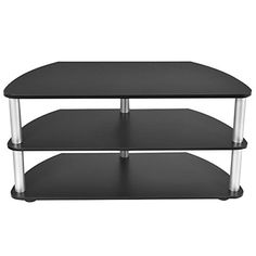 Eight24hours 3 Tier TV Stand Shelf Entertainment Center Console Media Home Furniture New * You can find more details by visiting the image link. (This is an affiliate link) #FurnitureTelevisionStands