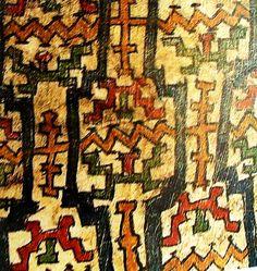 diseño tehuelche - Buscar con Google World Cultures, Folk Art, Bohemian Rug, Fantasy, Rugs, Shawarma, Color, Mayo, Chile