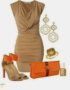 Super combinacion de colores para vestido de madrina de boda civil | Beautiful Combinations Dress to Wear to a Wedding