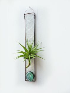 Stained Glass Air Plant Holder Tall Victorian by glassetc, $14.99