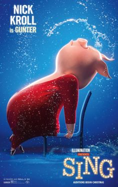 Sing Movie Poster (#2 of 8) - IMP Awards