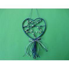 Basteln mit Perlen Anleitung | eine schöne Bastelidee mit einem selbstgebastelten Herz