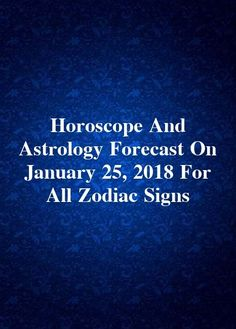 24 Best Astrology Forecast images in 2018 | Astrology