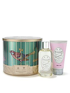 Penhaligon's - The Vanities Fragrance Collection - Bath & shower gel with hand & body cream. The scent of Vanities is specifically formulated to compliment any feminine fragrance. It also has a lovely delicate & floral aroma of it's own for those who like a subtle scent.