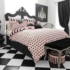 Gotta HAVE it!! Wake Up Frankie™ Left Bank Reversible Comforter Set - BedBathandBeyond.com.