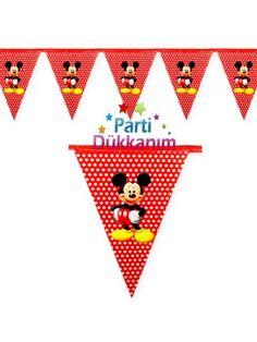 Mickey Mouse Bayrak Set 2 metre