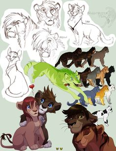 I was cleaning out my flash dive and I found a bunch of old CSE pics, so I put them together on a sketch book page. :3 Leo © *Wolf-Prince-Leon CSE/characters © *Nightrizer