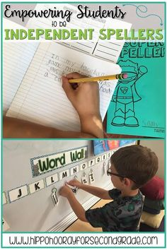 """Instead of simply telling students to """"stretch it out and write what you hear"""" and sending them back to their seats, we need to empower our students to be independent writers and spellers. Check out a few tools and resources you can use to ensure writing"""