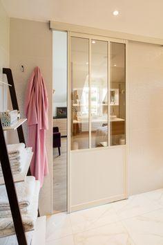 Les portes int rieures vitr es laissons les int rieurs for Paroi vitree style atelier