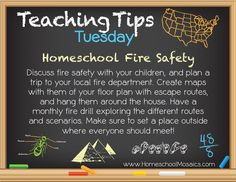 Teaching Tips Tuesday Fire Safety! September 2012