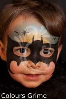 schminken on pinterest face paintings butterfly face paint and batman face paint. Black Bedroom Furniture Sets. Home Design Ideas