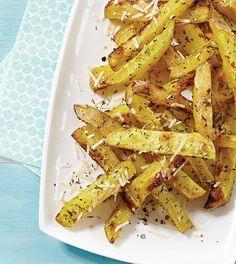 Baked Parmesan Fries - Clean Eating - Clean Eating