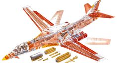 B-1B Bone cutaway drawing.