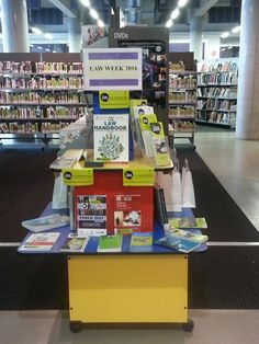 Law Week 2016.  Display at Ashfield Library