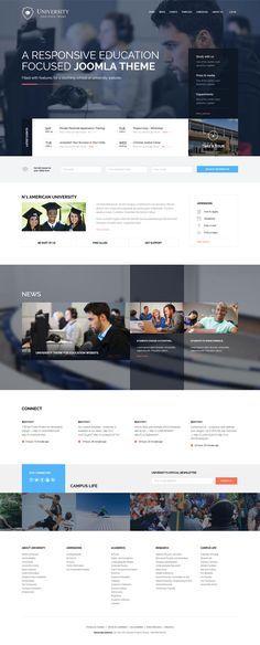 University Joomla Education Template is one of the Premium Joomla Templates, Responsive Joomla Templates best for Joomla Education Templates  http://goo.gl/EKYjLV  #UniversityJoomlaTemplate #JoomlaEducationTemplates #ResponsiveEducationTemplates